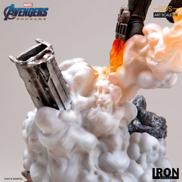 STAR-LORD STATUETTE 1-10 AVENGERS ENDGAME BDS ART SCALE IRON STUDIOS 31 CM (7) 606529899561 kingdom-figurine.fr