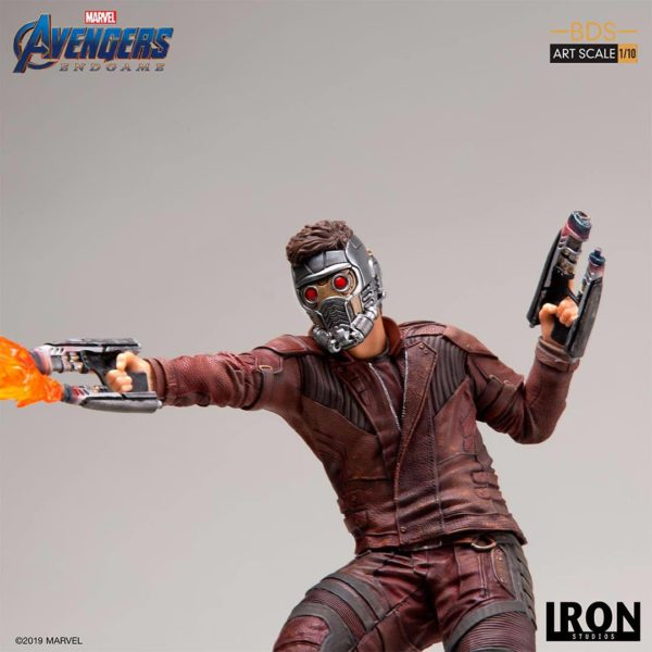STAR-LORD STATUETTE 1-10 AVENGERS ENDGAME BDS ART SCALE IRON STUDIOS 31 CM (8) 606529899561 kingdom-figurine.fr