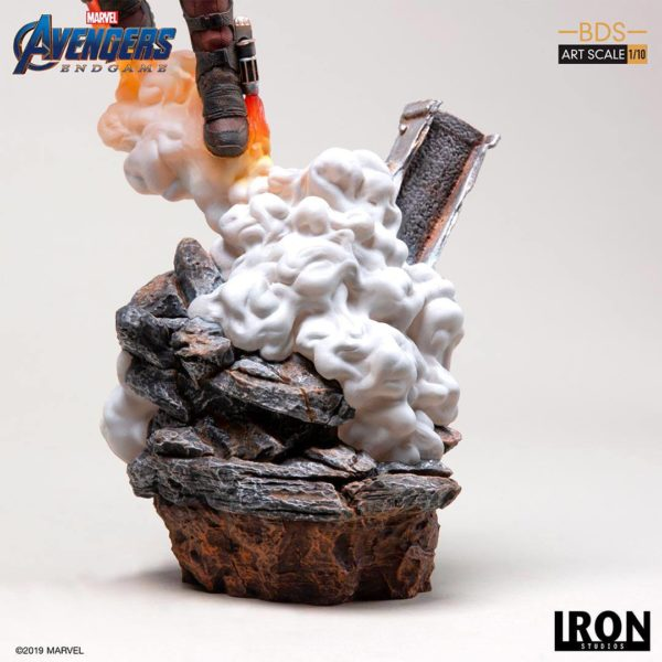 STAR-LORD STATUETTE 1-10 AVENGERS ENDGAME BDS ART SCALE IRON STUDIOS 31 CM (9) 606529899561 kingdom-figurine.fr