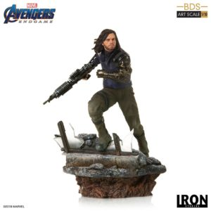 WINTER SOLDIER STATUETTE 1-10 AVENGERS ENDGAME BDS ART SCALE IRON STUDIOS 21 CM (1) 606529899639 kingdom-figurine.fr