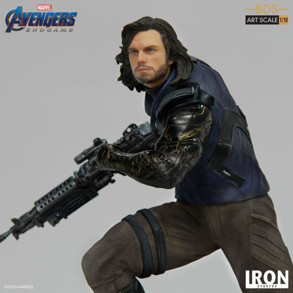 WINTER SOLDIER STATUETTE 1-10 AVENGERS ENDGAME BDS ART SCALE IRON STUDIOS 21 CM (4) 606529899639 kingdom-figurine.fr