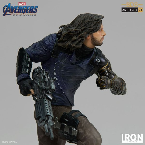 WINTER SOLDIER STATUETTE 1-10 AVENGERS ENDGAME BDS ART SCALE IRON STUDIOS 21 CM (5) 606529899639 kingdom-figurine.fr