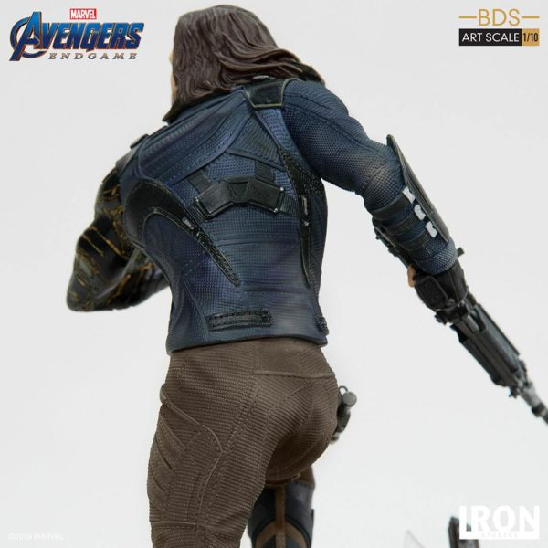 WINTER SOLDIER STATUETTE 1-10 AVENGERS ENDGAME BDS ART SCALE IRON STUDIOS 21 CM (7) 606529899639 kingdom-figurine.fr