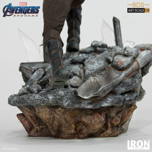 WINTER SOLDIER STATUETTE 1-10 AVENGERS ENDGAME BDS ART SCALE IRON STUDIOS 21 CM (8) 606529899639 kingdom-figurine.fr