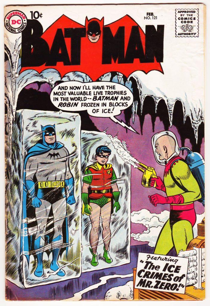 Mister Freeze : première apparition dans Batman en 1959