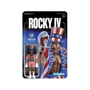 APOLLO CREED FIGURINE ROCKY IV RE-ACTION SUPER7 10 CM (1) 811169033453 kingdom-figurine.fr