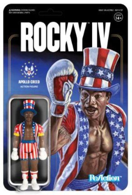 APOLLO CREED FIGURINE ROCKY IV RE-ACTION SUPER7 10 CM 811169033453 kingdom-figurine.fr