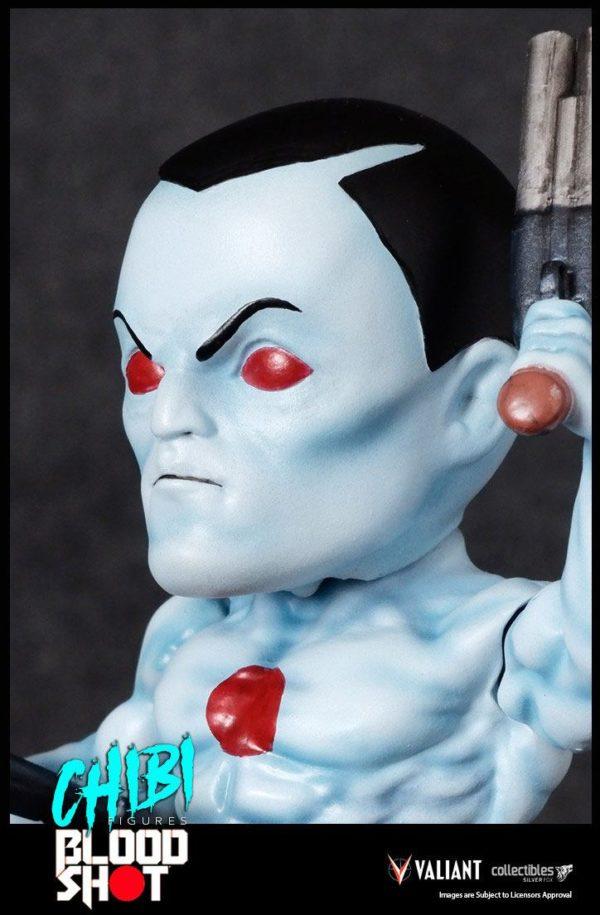 BLOODSHOT FIGURINE CHIBI VALIANT COMICS SILVER FOX COLLECTIBLES 10 CM (8) 747720198882 kingdom-figurine.fr