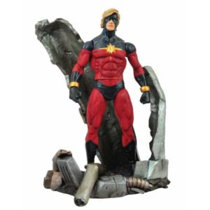 CAPTAIN MARVEL FIGURINE MARVEL SELECT DIAMOND SELECT 18 CM (0) 699788108345 kingdom-figurine.fr