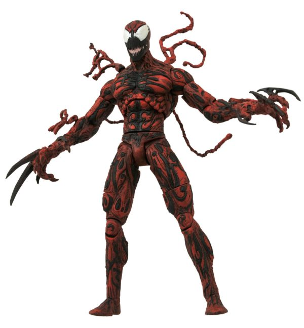 CARNAGE FIGURINE MARVEL SELECT DIAMOND SELECT TOYS 20 CM (1bis) 699788180082 kingdom-figurine.fr