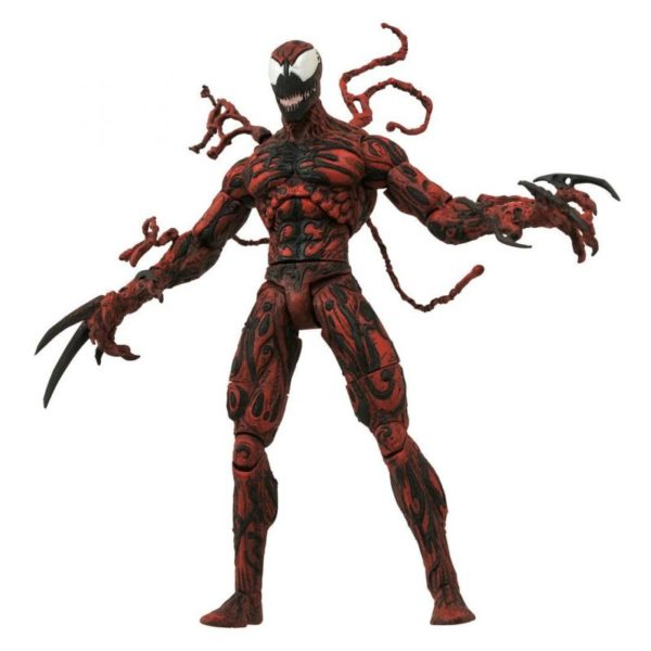 CARNAGE FIGURINE MARVEL SELECT DIAMOND SELECT TOYS 20 CM 699788180082 kingdom-figurine.fr