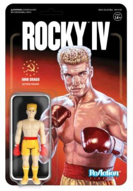 IVAN DRAGO FIGURINE ROCKY IV RE-ACTION SUPER7 10 CM 811169033439 kingdom-figurine.fr