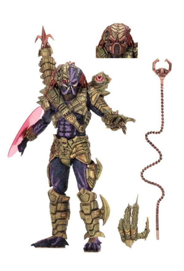 LASERSHOT PREDATOR ULTIMATE FIGURINE PREDATOR NECA 21 CM (1bis) 634482515617 kingdom-figurine.fr
