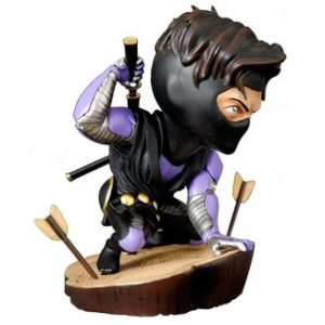 NINJAK FIGURINE CHIBI VALIANT COMICS SILVER FOX COLLECTIBLES 9 CM (0) 747720198883 kingdom-figurine.fr