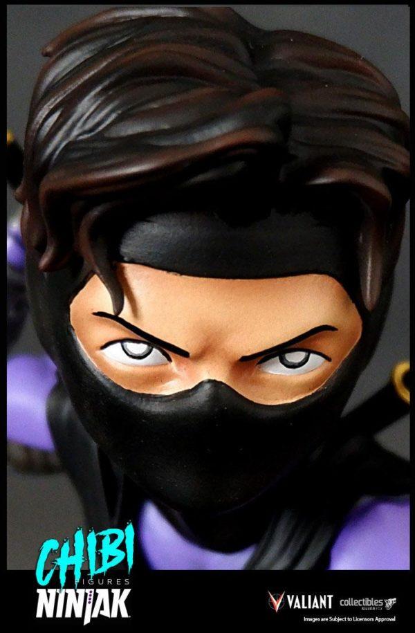 NINJAK FIGURINE CHIBI VALIANT COMICS SILVER FOX COLLECTIBLES 9 CM (10) 747720198883 kingdom-figurine.fr