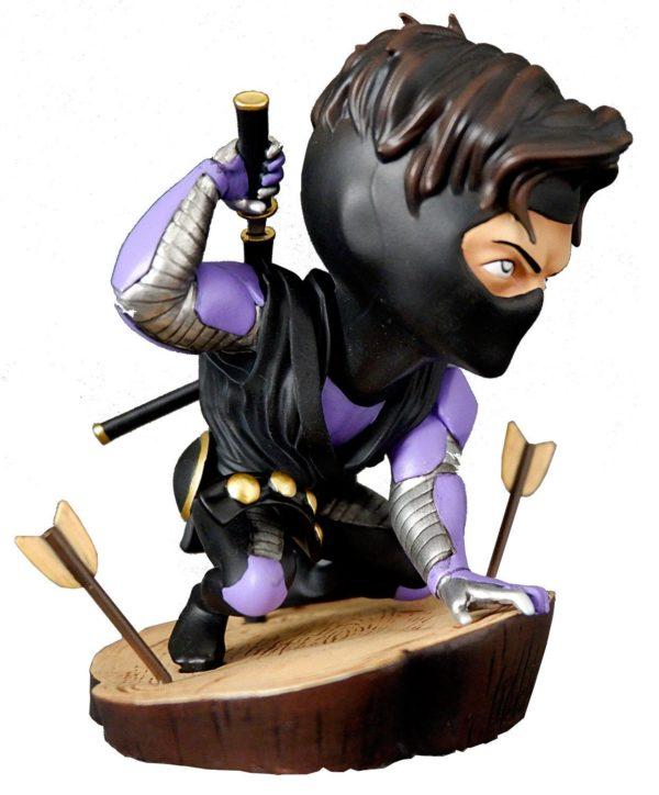 NINJAK FIGURINE CHIBI VALIANT COMICS SILVER FOX COLLECTIBLES 9 CM (1bis) 747720198883 kingdom-figurine.fr