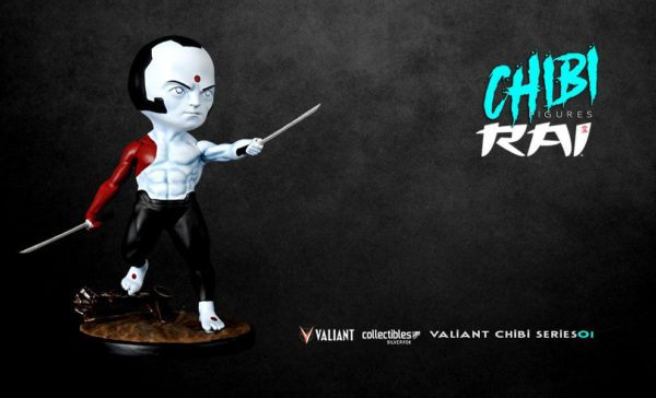 RAI FIGURINE CHIBI VALIANT COMICS SERIE 01 SILVER FOX COLLECTIBLES 10 CM (13) SFCSBSC1003 kingdom-figurine.fr