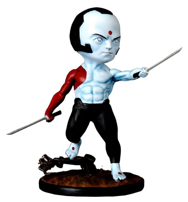 RAI FIGURINE CHIBI VALIANT COMICS SERIE 01 SILVER FOX COLLECTIBLES 10 CM (1bis) SFCSBSC1003 kingdom-figurine.fr