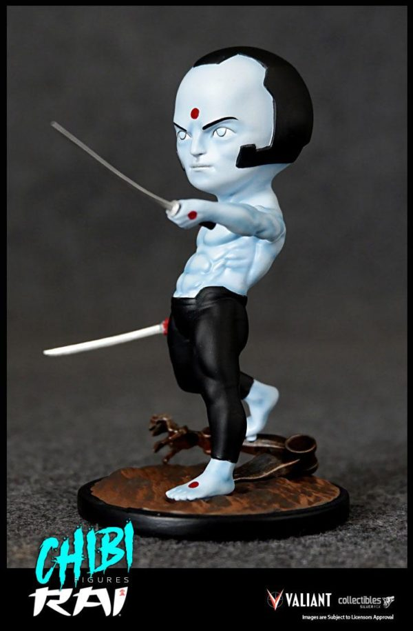 RAI FIGURINE CHIBI VALIANT COMICS SERIE 01 SILVER FOX COLLECTIBLES 10 CM (9) SFCSBSC1003 kingdom-figurine.fr