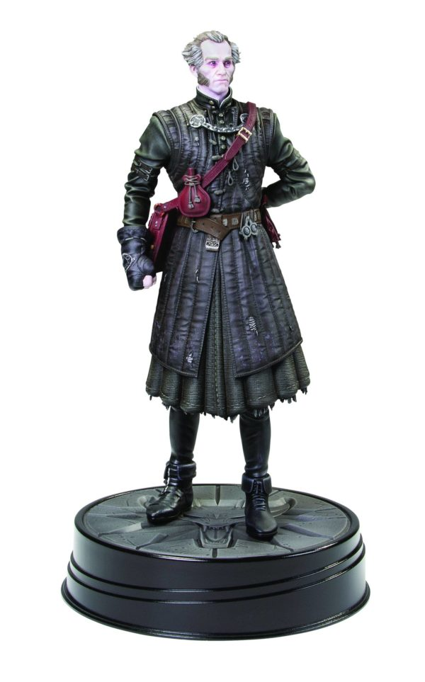 REGIS VAMPIRE STATUETTE WITCHER 3 WILD HUNT DARK HORSE 20 CM (2) DAHO3004-368 kingdom-figurine.fr
