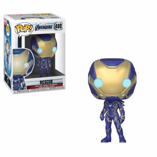 RESCUE FIGURINE AVENGERS ENDGAME POP 480 FUNKO 889698397414 kingdom-figurine.fr