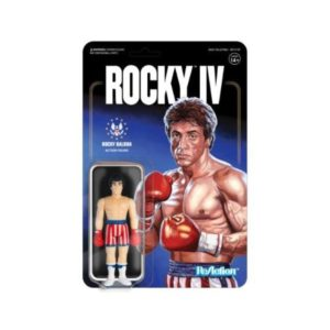 ROCKY BALBOA FIGURINE ROCKY IV RE-ACTION SUPER7 10 CM (1) 811169033415 kingdom-figurine.fr