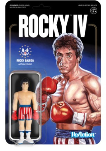 ROCKY BALBOA FIGURINE ROCKY IV RE-ACTION SUPER7 10 CM 811169033415 kingdom-figurine.fr
