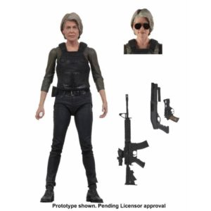 SARAH CONNOR FIGURINE TERMINATOR DARK FATE NECA 18 CM 634482519240 kingdom-figurine.fr