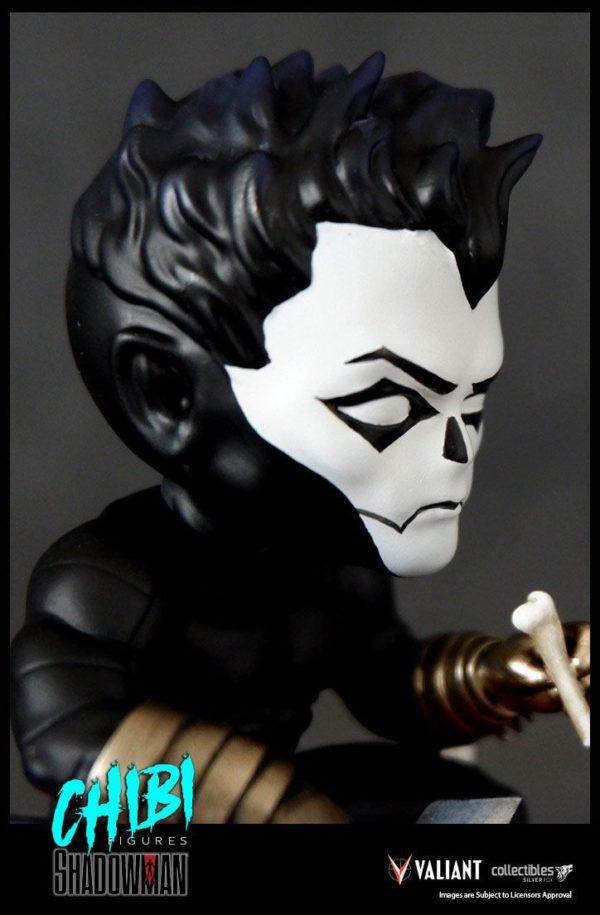 SHADOWMAN FIGURINE CHIBI VALIANT COMICS SERIE 01 SILVER FOX COLLECTIBLES 9 CM (10) SFCSBSC1004 kingdom-figurine.fr