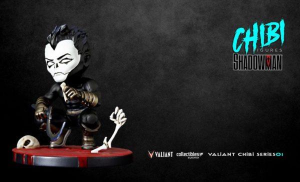 SHADOWMAN FIGURINE CHIBI VALIANT COMICS SERIE 01 SILVER FOX COLLECTIBLES 9 CM (11) SFCSBSC1004 kingdom-figurine.fr
