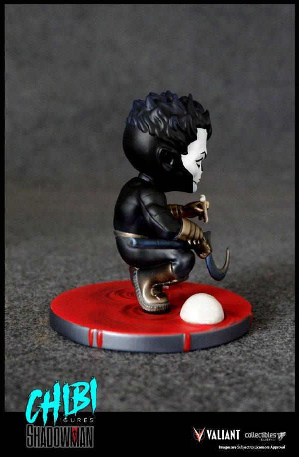 SHADOWMAN FIGURINE CHIBI VALIANT COMICS SERIE 01 SILVER FOX COLLECTIBLES 9 CM (5) SFCSBSC1004 kingdom-figurine.fr