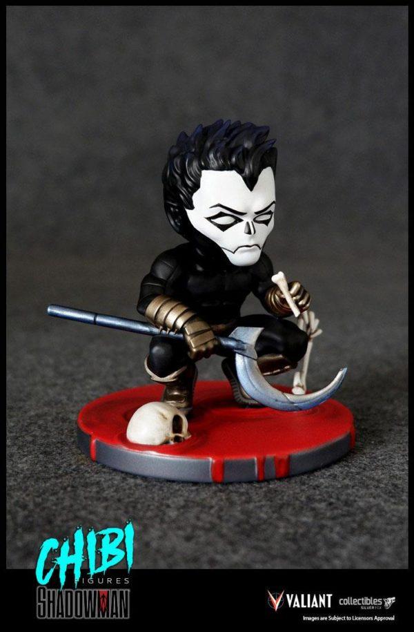 SHADOWMAN FIGURINE CHIBI VALIANT COMICS SERIE 01 SILVER FOX COLLECTIBLES 9 CM (7) SFCSBSC1004 kingdom-figurine.fr