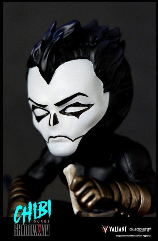 SHADOWMAN FIGURINE CHIBI VALIANT COMICS SERIE 01 SILVER FOX COLLECTIBLES 9 CM (8) SFCSBSC1004 kingdom-figurine.fr
