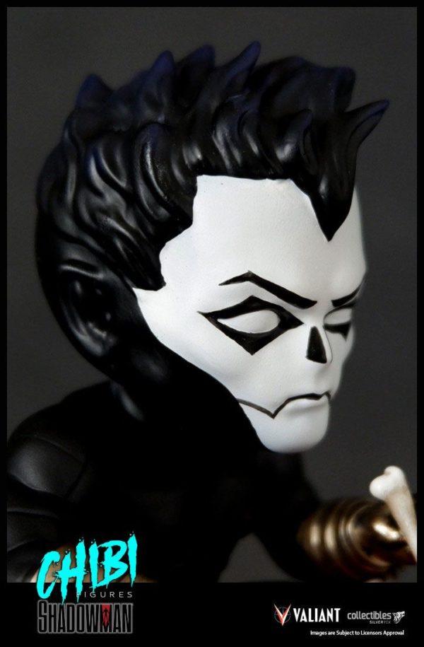 SHADOWMAN FIGURINE CHIBI VALIANT COMICS SERIE 01 SILVER FOX COLLECTIBLES 9 CM (9) SFCSBSC1004 kingdom-figurine.fr
