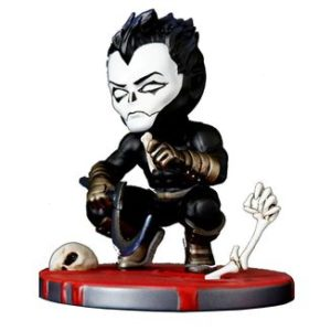 SHADOWMAN FIGURINE CHIBI VALIANT COMICS SERIE 01 SILVER FOX COLLECTIBLES 9 CM SFCSBSC1004 kingdom-figurine.fr