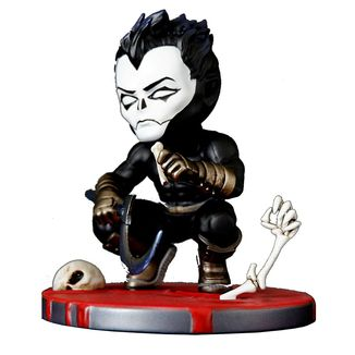 SHADOWMAN FIGURINE CHIBI VALIANT COMICS SERIE 01 SILVER FOX COLLECTIBLES 9 CM SFCSBSC1004 kingdom-figurine.fr