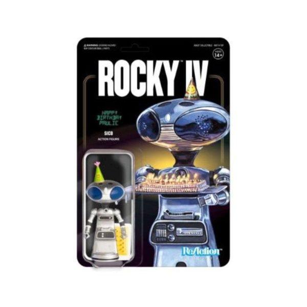 SICO PAULIE'S ROBOT FIGURINE ROCKY IV RE-ACTION SUPER7 10 CM (1) 811169033460 kingdom-figurine.fr