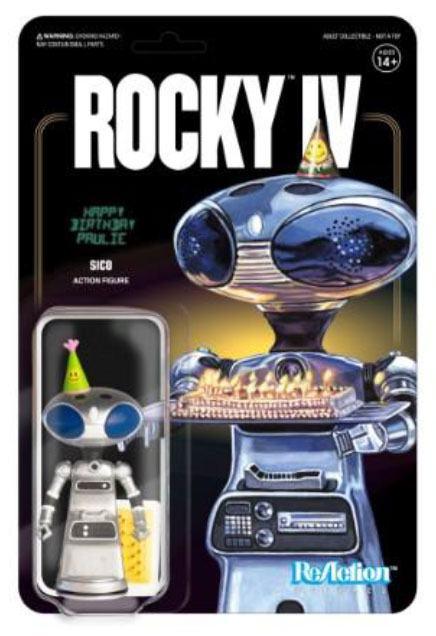 SICO PAULIE'S ROBOT FIGURINE ROCKY IV RE-ACTION SUPER7 10 CM 811169033460 kingdom-figurine.fr