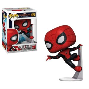 SPIDER-MAN UPGRADED SUITE FIGURINE SPIDER-MAN FAR FROM HOME POP 470 FUNKO 889698398985 kingdom-figurine.fr