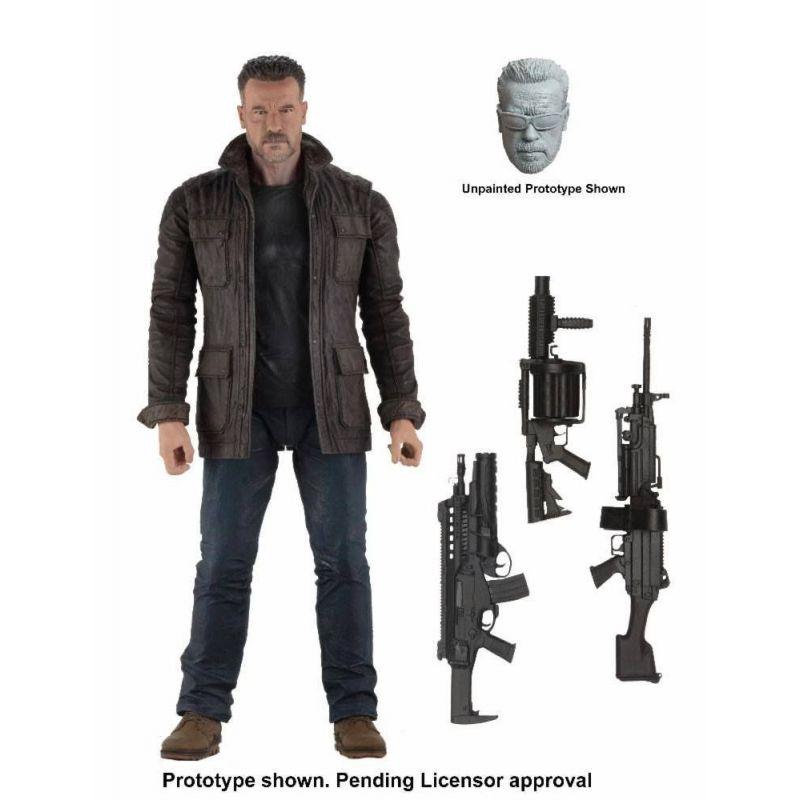 Figurine T-800 dans Terminator : Dark Fate