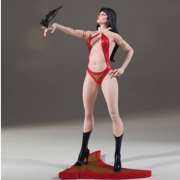 VAMPIRELLA STATUE WOMEN OF DYNAMITE BY JOSE GONZALEZ DYNAMITE ENTERTAINMENT 30 CM (1) 725130283320 kingdom-figurine.fr