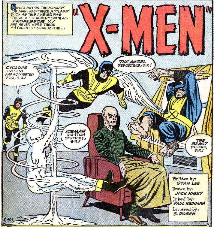 Iceman un X-Men Marvel