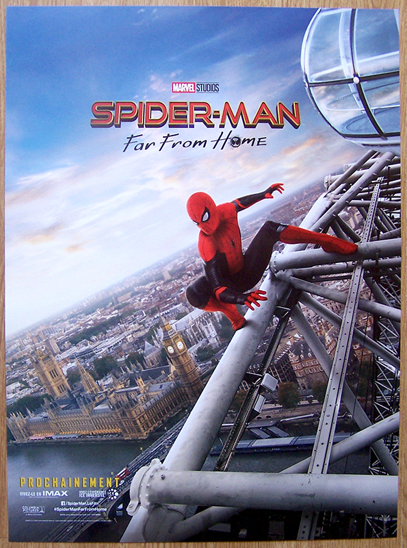 Affiche de Spider-Man far from home