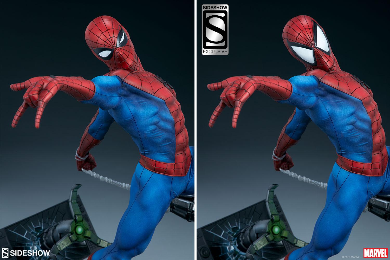 Deux têtes interchangeables pour ce Spider-Man