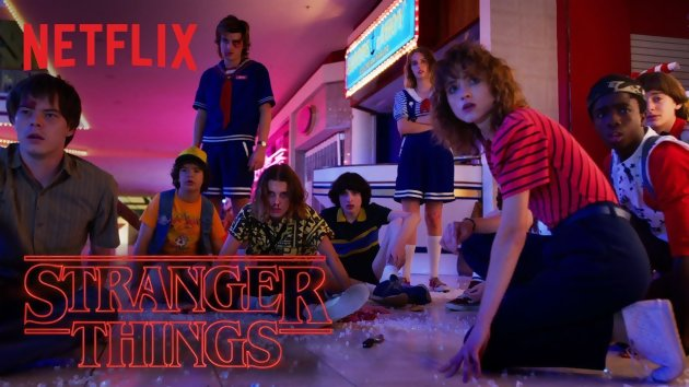 Les héros de Stranger Things