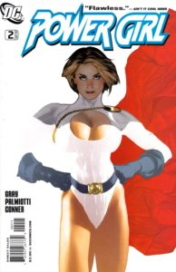 Power girl façon DC Cover Girl