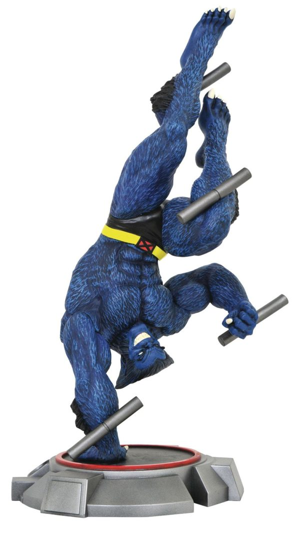 BEAST COMIC STATUETTE X-MEN GALLERY DIAMOND SELECT TOYS 23 CM (1) 699788832134 kingdom-figurine.fr