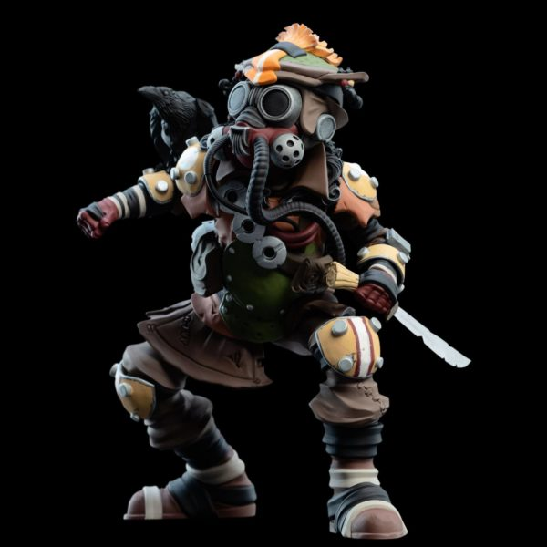 BLOODHOUND FIGURINE APEX LEGENDS MINI EPICS WETA (4) 9420024730454 kingdom-figurine.fr