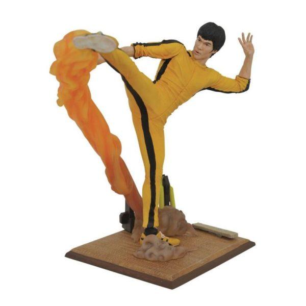 BRUCE LEE KICKING STATUETTE BRUCE LEE GALLERY DIAMOND SELECT TOYS 699788834091 kingdom-figurine.fr