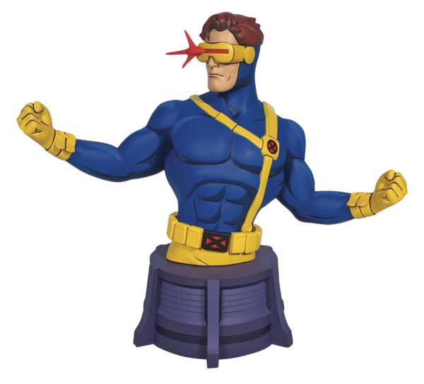 CYCLOPS BUSTE X-MEN ANIMATED SERIES DIAMOND SELECT TOYS (1) 699788837566 kingdom-figurine.fr